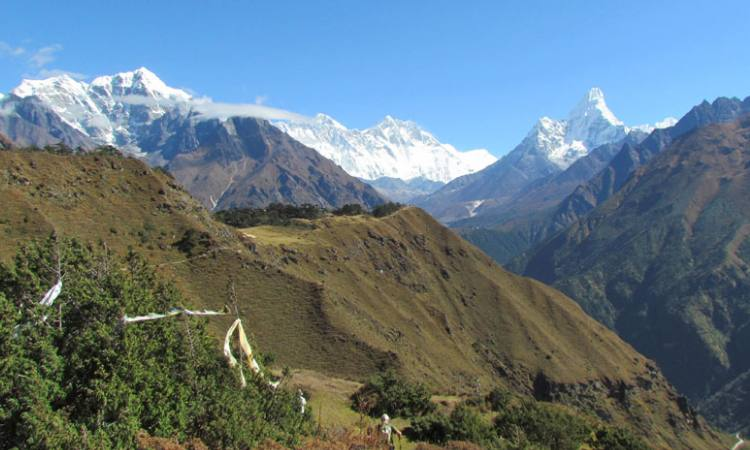View from Syangboche-Everest trek